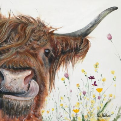 Highland Cow Alfie Art Pankhurst Cards and Gifts