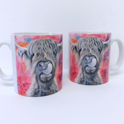 Highland Cow Brian Mug Gift Pankhurst Cards and Gifts