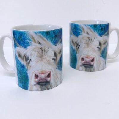 Highland Cow Patrick Mug Gift Pankhurst Cards and Gifts