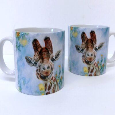 Giraffe Prudence Mug Gift Pankhurst Cards and Gifts