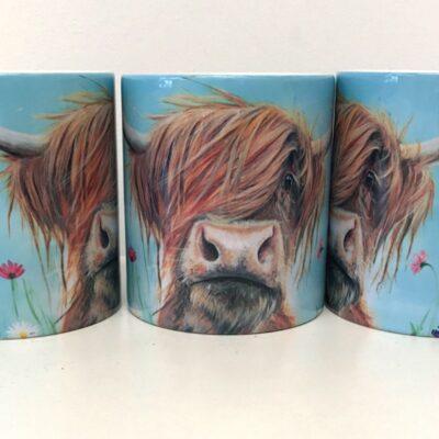 Highland Cow Rufus Mug Gift Pankhurst Cards and Gifts