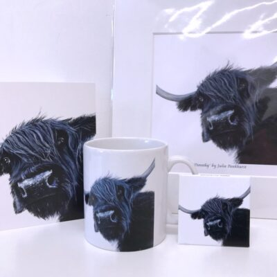 Highland Cow Dorothy Gift Collection Pankhurst Cards and Gifts