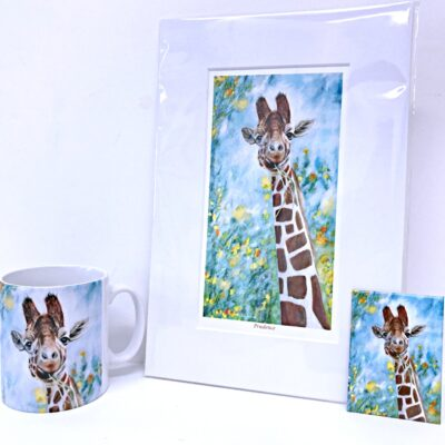 Giraffe Prudence Gift Collection Pankhurst Cards and Gifts