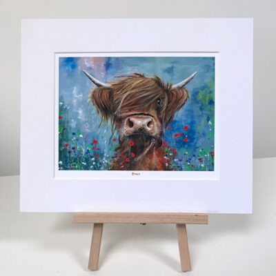Highland Cow Bruce Art Pankhurst Cards and Gifts