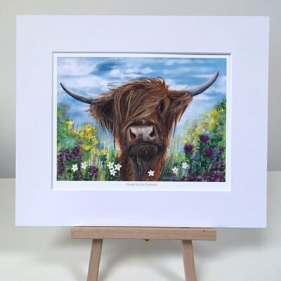 Highland Cow Hamish Art Pankhurst Cards and Gifts