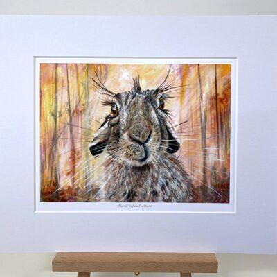 Harold Hare Animal Art Gift Print Pankhurst Cards and Gifts